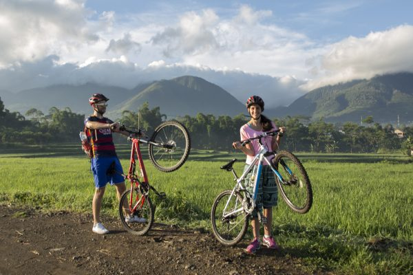 Cycling in Ruteng